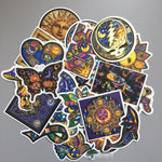 25Pcs Colorful World Peace Stickers