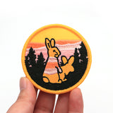 2pcs Rogue Rabbit Patches