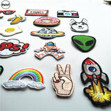 Embroidery Iron on Patches