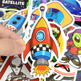 50 PCS Outer Space Stickers
