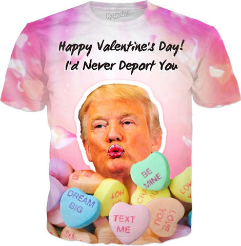 Donald Trump Valentines Day T-Shirt