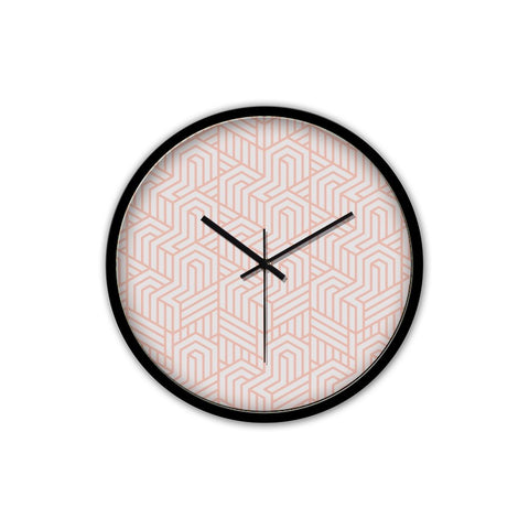 Baby Pink Clock