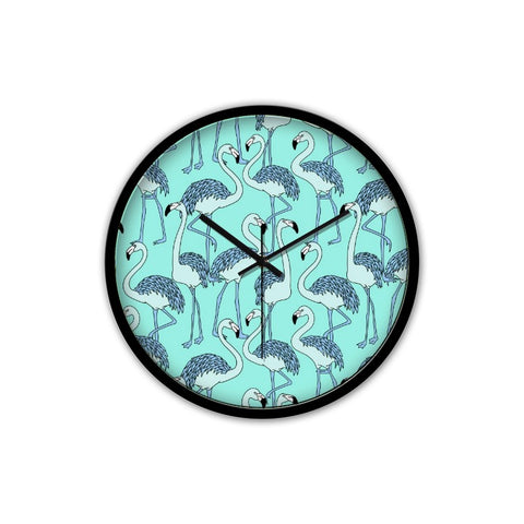 Flamingo Clock