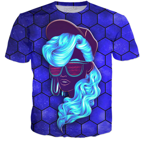 Coolest Girl In The World Blue T-Shirt