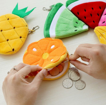 Summer Fruits Key Chains