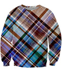 Woody Plaid Crewneck Sweatshirt
