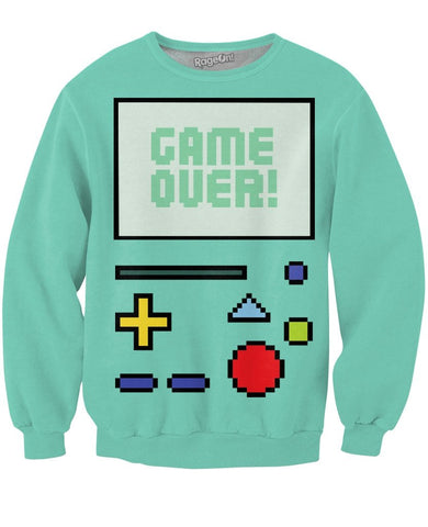 Game Over BMO Crewneck Sweatshirt