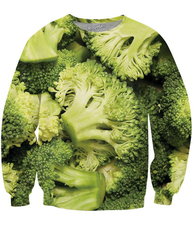 Broccoli Bunches Crewneck Sweatshirt