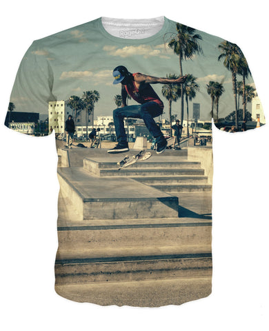 Venice Beach Skateboarder T-Shirt