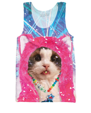 Rave Kitty Tank Top