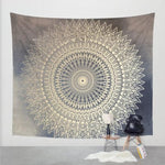 World Map/Mandala Tapestries