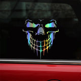 Skull Car Sticker