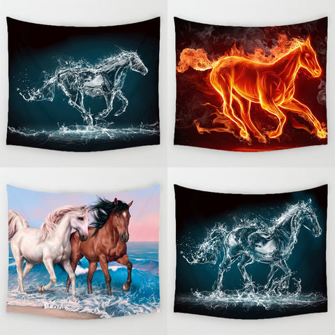 Running Horses Pattern Tapestries