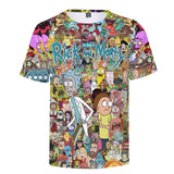 Cool Rick Morty T-shirt