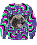 Crazy Pug Sweatshirt