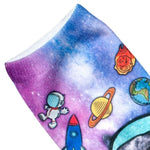 Space Cat Patterns Socks