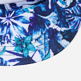 Flower Label Snapback Hat