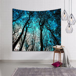 Boho Forest Wall Tapestries