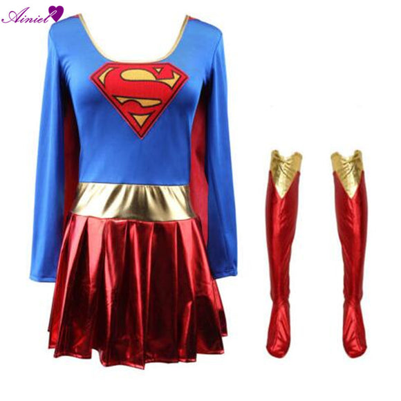 Supergirl Costume Dress