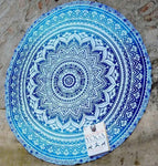 Round Tablecloth Beach Towel Blanket Tapestry