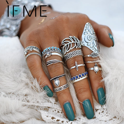 Bohemian Ring Set Accessories