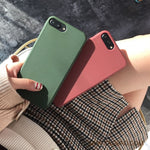 Soft Silicone Basic Phone Case