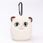 Grouchy Kitten Cat Stuffed Plush Clip