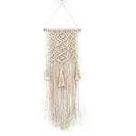 Macrame Wall Art Handmade Cotton Wall Hanging Tapestry