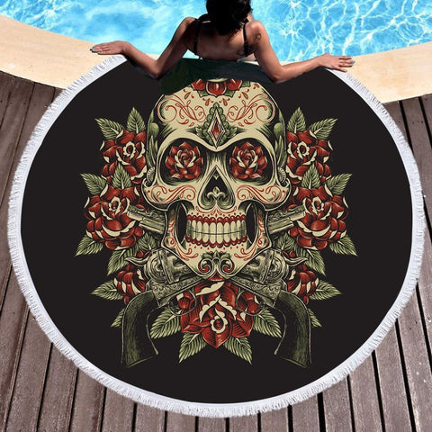 Large Towel for Beach Printed tapestries