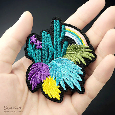 Plant Embroidered Patch