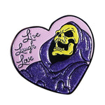 Skeletor inspired Enamel Pin