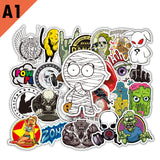 50 Pieces Mixed Stickers