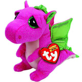 Stuffed Pink Dragon