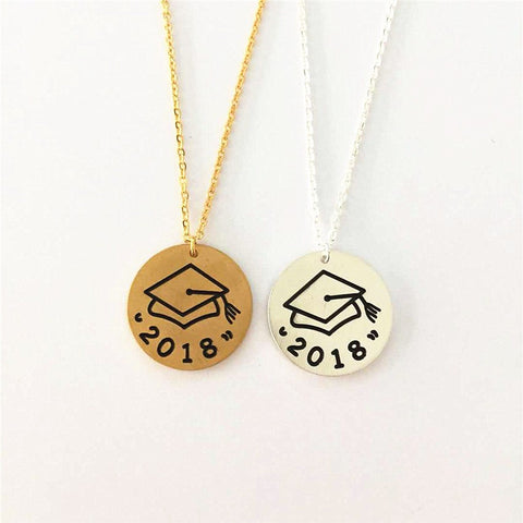 2018 Graduation Student Necklace