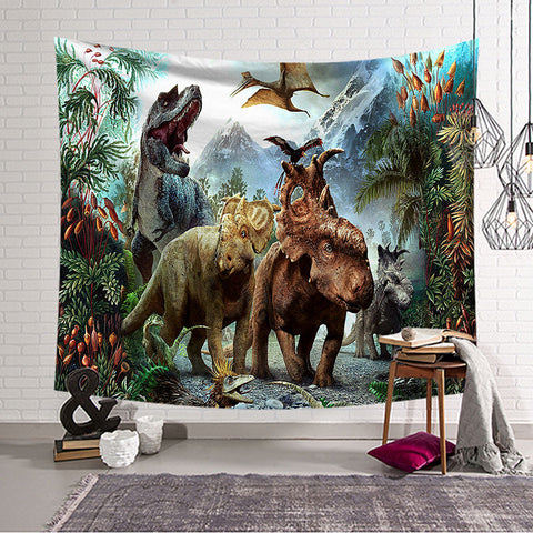 Dinosaur and Animals Wall Hanging Tapestries