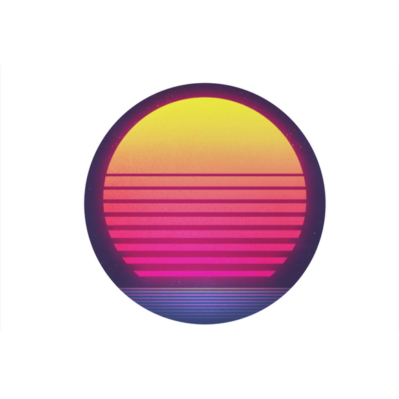 Retro Sunset bopsocket