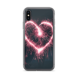 Heart Firework iPhone Case