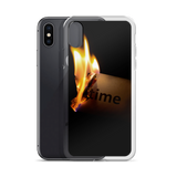 Burning Time iPhone Case