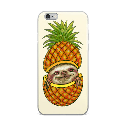 Pineapple Friend iPhone Case