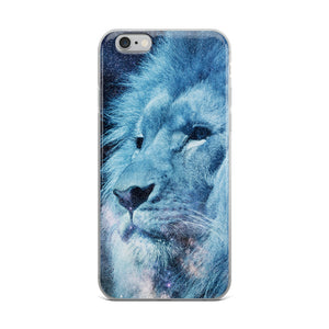 Galaxy Lion iPhone Case