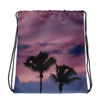 Palm Tree Friends Drawstring bag