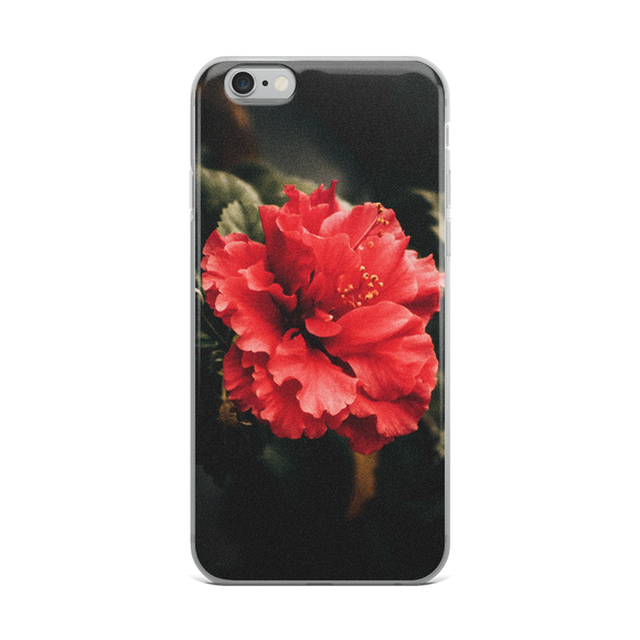Red Flower iPhone Case