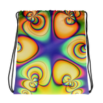 Color Hole Drawstring bag