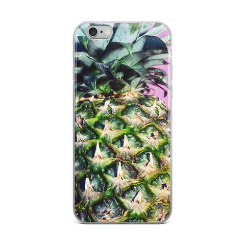Pineapple Close Up iPhone Case