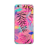 Pink Jungle iPhone Case