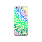 Rainbow Floral iPhone Case