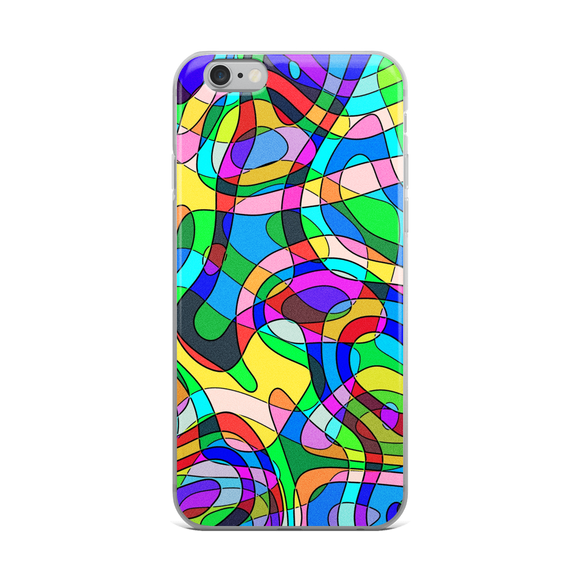 Colorful Directions iPhone Case