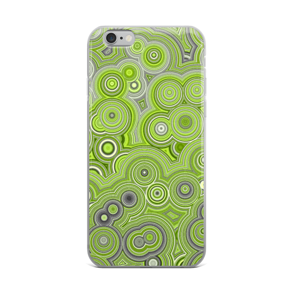 Green O's iPhone Case
