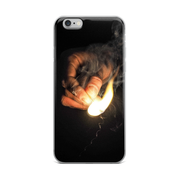 Fire Hand iPhone Case