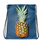 Simple Pineapple Drawstring bag